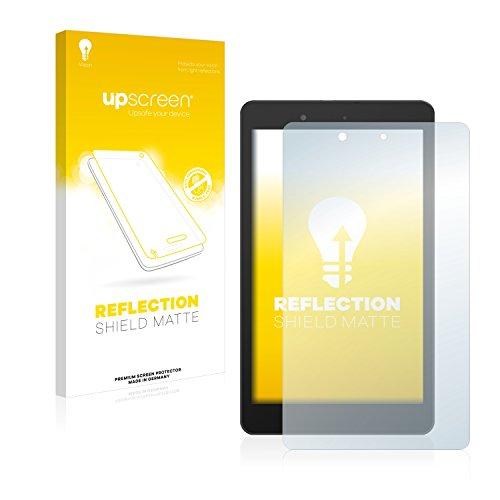 upscreen Entspiegelungs-Schutzfolie kompatibel mit BQ Edison 3 Mini – Anti-Reflex Bildschirmschutz-Folie Matt