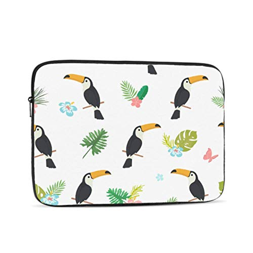 Laptop Sleeve Case 13 Inch Cartoon Doodle Pattern Exotic Laptop Sleeve/notebook Computer Pocket Case/tablet Briefcase Carrying Bag