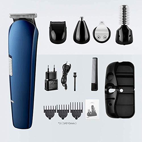 Pelo tijeras de corte de pelo profesional de la herramienta Hair Clippers sin cable eléctrico del corte de pelo del condensador de ajuste del pelo adulto corte de la máquina de múltiples funciones de