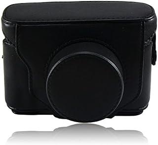 First2savvv XJPT-X10-01 Custodia Fondina in pelle sintetica per macchine fotografiche reflex compatibile con Fuji Fujifilm...