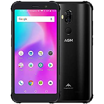 AGM X3 Android 8.1 Smartphone Octa Core 8+256GB FHD IPS Face ID 4G ...