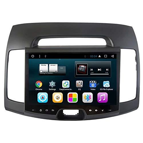 TOPNAVI 10,1 Pouces tête unissent Android 7.1 Navigation de Voiture pour Hyundai Elantra 2011 2012 2013 2014 2015 2016 Auto GPS Radio stéréo avec Quad Core 16 Go ROM WiFi 3G RDS Lien BT