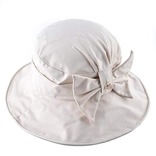 Sombrero Pescador Gorras Gorra De Sol De Algodón para Mujer, Sombrero De...