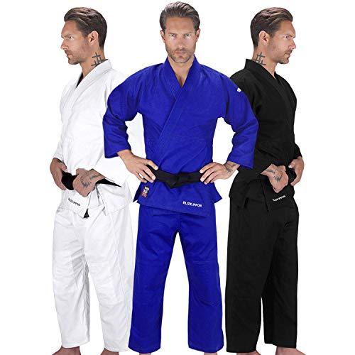 Elite Sports Adult Judo GI Uniform Double Weave IJF...