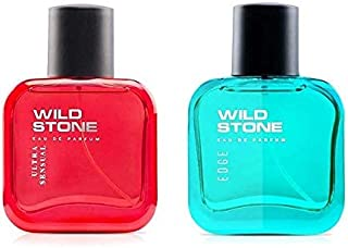 Wild Stone Edge and Ultra Sensual Perfume Combo for Men 30ml (Pack of 2)