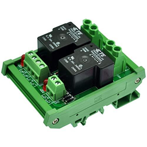 Interrupteur /à minuterie SUL 181h 230 VAC 45-60 Hz 35 mm Heschen 24 heures rail DIN