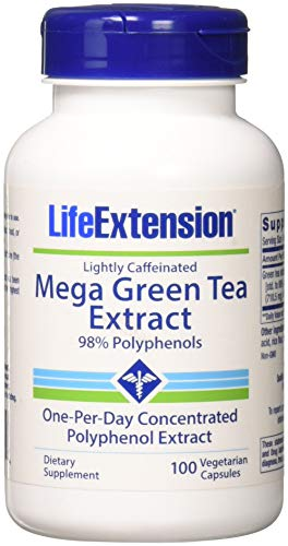 Price comparison product image Life Extension Mega Green Tea Extract - Lightly Caffeinated