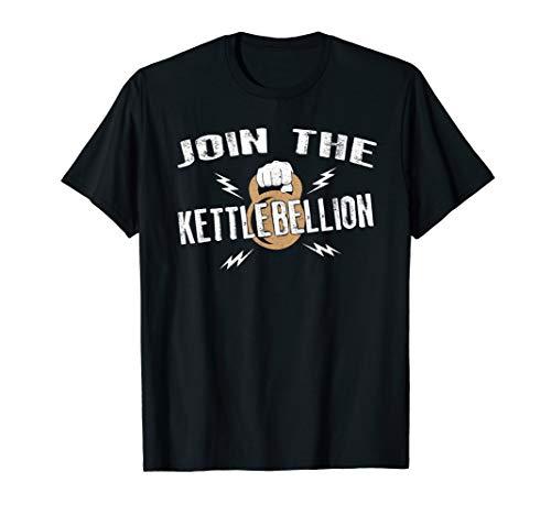 Kettlebell Workout Gym Fit Fitness Kettlebellion Training T-Shirt