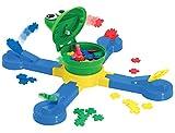 TOMY Geschicklichkeitsspiel für die ganze Familie 'Froschi Fliegenfänger' mehrfarbig -...