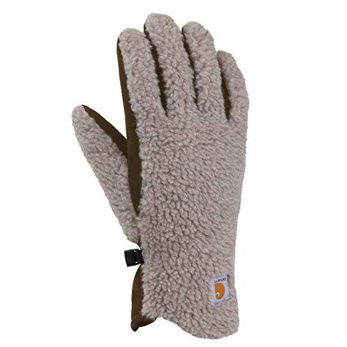 Carhartt Women's Sherpa Glove, Desert Sand, Medium