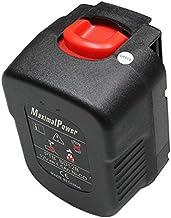 MaximalPower–12V 1500mAh Ni-CD Batería de repuesto para Black & Decker 12V herramientas eléctricas