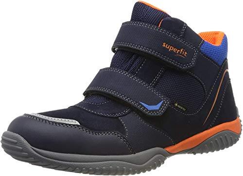 Superfit Jungen Storm Gore-Tex 509385 Hohe Sneaker, Blau (Blau/Orange 80), 25 EU