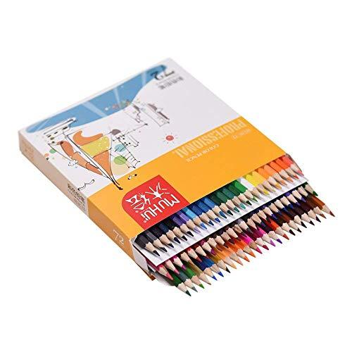 72 Color Premium Pre SharpenE'D Oil BasE'D ColorE'D Pencils Set for Kids Adults Artist Art Drawing Sketching Writing Artwork Coloring Books LATT LIV