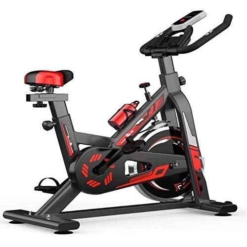 WJFXJQ Indoor Spinning Ciclo de la Bici, Home Fitness Equipment, Ajustable Ultra silencioso de Bicicleta de Ejercicios, el Ejercicio aeróbico
