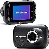 Nextbase 122 - Dash CAM, Cámara del Tablero del automóvil - Cámara de DVR con grabación Full HD a 720p / 30fps - Ángulo de visión Amplio de 120 ° - GPS - Emergencia SOS