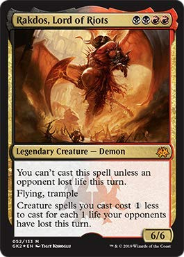 Magic: The Gathering - Rakdos, Lord of Riots - Ravnica Allegiance Guild Kits