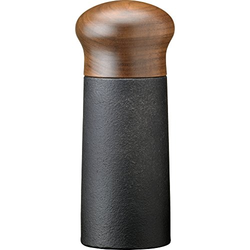 SKEPPSHULT Pfeffer- und Gewürzmühle, Gusseisen, Deckel aus Walnussholz