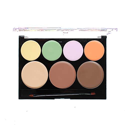 1Pack Premium Kit de maquillage Palette Contour et Correcteur Maquillage Combinaison de maquillage avec camouflage avec crème et pinceau pigmentés