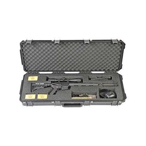 SKB Unisex's iSeries 4214 Single Rifle Case, Black, One Size