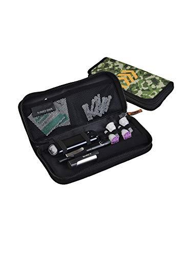 Dia-PenCase astuccio per diabetici: penne per insulina, glucometro USB, lancette, salviette e tanti altri accessori da viaggio per il diabete. (Drill Bill)