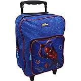 Marvel Spider-Man Trolley Rucksack für Kinder - Blau und Rot