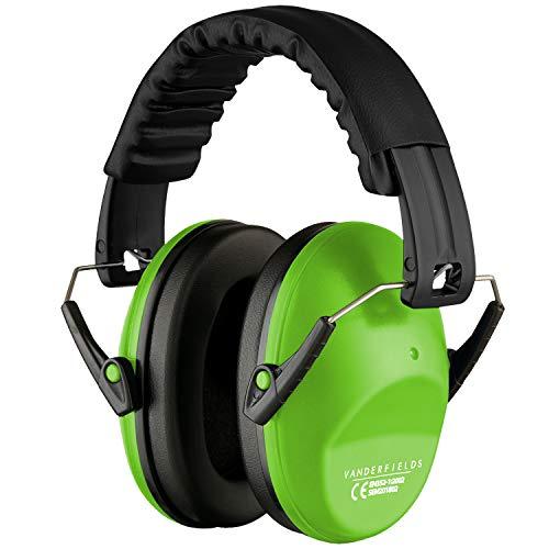 Lärmschutz Kopfhörer Kinder - Gehörschutz Kapselgehörschutz Schutzkopfhörer - Faltbar Komfortabel Gehoerschutz - Zusammenklappbar Verstellbare Stirnband Ohrenschützer für Erwachsene Kinder Frau …
