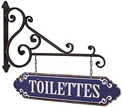 Plaque D/écorative Murale Signal/étique Toilettes