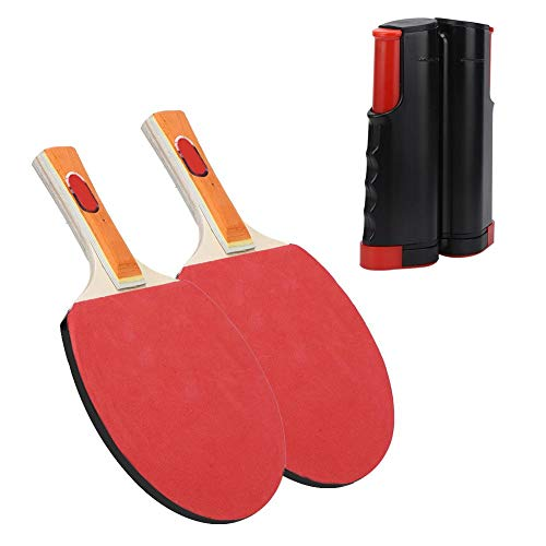 Buy Bargain Naroote Anti-Slip Table Tennis Set with Backpack Telescopic Net Rack Training Accessorie...