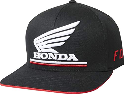 Fox Racing Honda Flexfit Hat-Black-L/XL