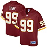 NFL PRO LINE Men's Chase Young Burgundy Washington Football Team Player Jersey
