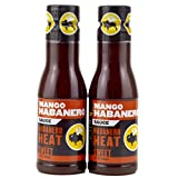 Buffalo Wild Wings Barbecue Sauces, Spices, Seasonings and Rubs For: Meat, Ribs, Rib, Chicken, Pork, Steak, Wings, Turkey, Barbecue, Smoker, Crock-Pot, Oven (Mango Habanero, (2) Pack)