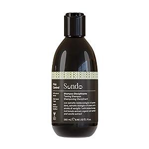 Sendo Champú Anti Frizz Control para el cabello con Extracto Biotecnológico de Tomate, Extracto Biológico de Avena y Extracto de Vainilla - Controla el Cabello Encrespado - 250 ML -
