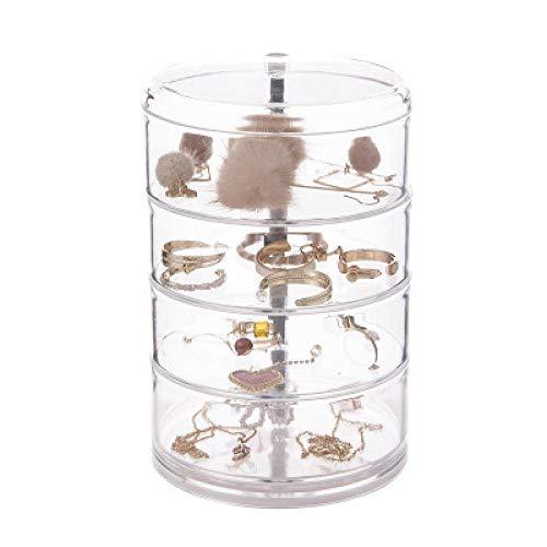 Caja Joyero Pequeña,Portátil Joyero Viaje Cajas para Joyas Jewelry Organizer para Mujer, para Anillos, Aretes, Pendientes, Pulseras y Collares