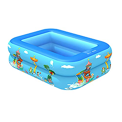 Vwlvrsco Garden Outdoor Home Cartoon Inflatable Baby Children Kid Water Play PVC Bathing Tub Swimming Pool 1208535cm