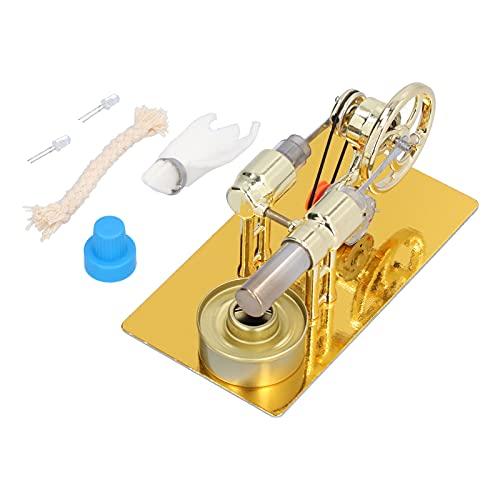 Stirling Engine, Mini Motor Model Kits de juguetes educativos físicos Decoración de mesa para material didáctico Reemplazo de decoraciones para bricolaje.