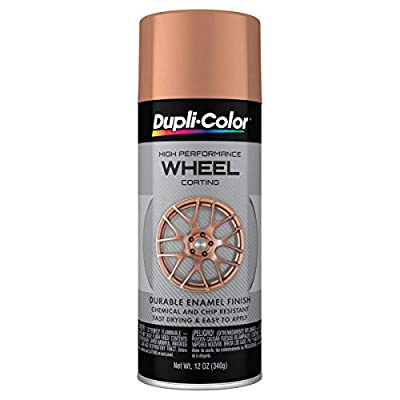 Dupli-Color EHWP10900 Wheel Coating, Rose Gold, 12 oz.