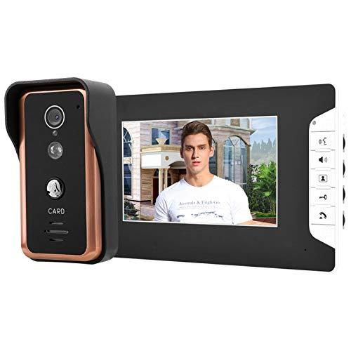 Monitores de cámara de intercomunicación con Timbre de Video con(European Standard (100-240v))