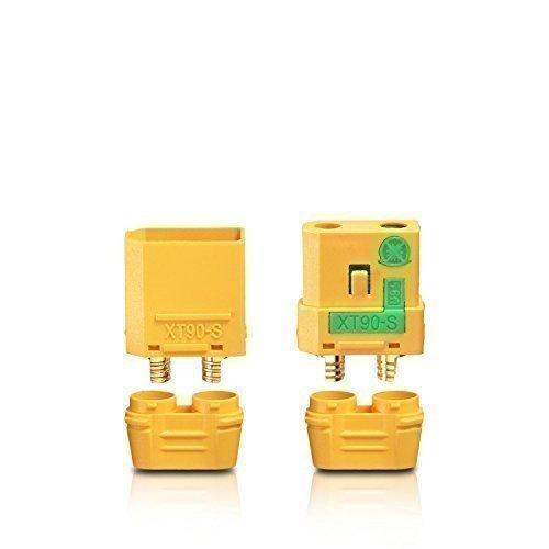 partCore Hochstrom XT90S Stecker Buchse Antiblitz XT90 S 1 Paar