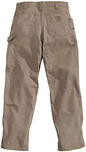 Carhartt mens Canvas Work Dungaree B151 Light Brown 38W X 30L product image