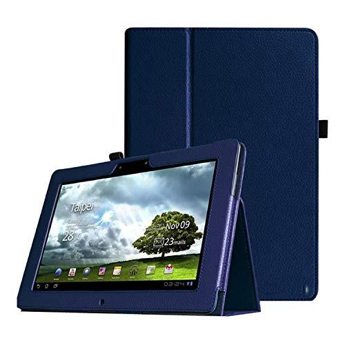 Voor Asus Memo Pad Fhd 10,1 Zoll ME301T ME302 ME302C ME302KL Tablet Lederen Beschermhoes-Navy blau