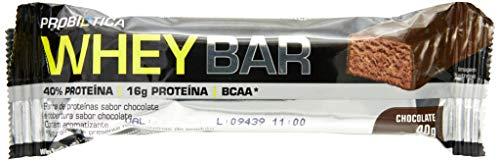 Whey Bar High Protein, Chocolate, Probiótica, 40 G, 24 Unidades