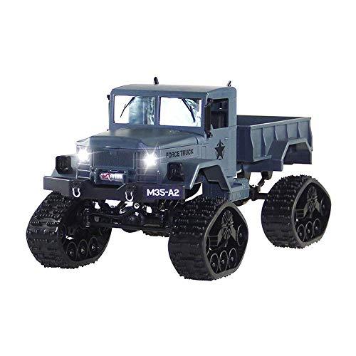 Remoto de la cámara de control de camiones con 1080P HD WiFi fuerte caballos de fuerza Pista del camino del coche de RC recargable 2.4G de alta velocidad coche teledirigido for adultos y niños (Color: