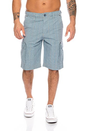 Rock Creek Selection Heren Zomer Shorts Korte broek Bermuda Kapri geruit Cargo H-074 S-XXL