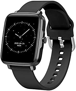 BFIT Gen B1 Touchscreen Unisex Stainless Steel case smartwatch with HRM, Temperature Measurement, and Upto 15 Days Active ...