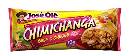 Jose Ole Chimichanga, Beef & Cheese, 5 Ounce, Frozen