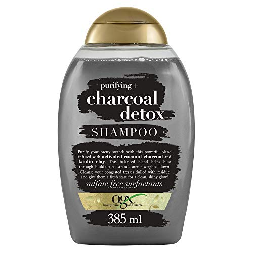 OGX purifying Charcoal detox Shampoo, 385 ml