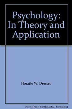Hardcover Psychology: In Theory and Application Book