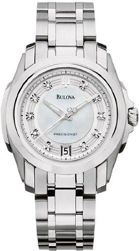 Bulova 96P115 Precisionist - Reloj de pulsera para mujer (acero inoxidable)