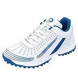 Willsky Scarpe Da Golf Per Bambini Sneakers Per Fitness Traspirante Unisex Antiscivolo Smorzamento Adolescenti,Blu,44EU