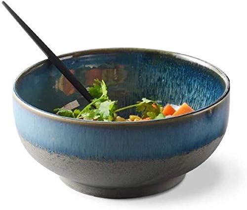 Blue Gradient Sales of SALE items from new works Deep Ceramic Bowl Ramen Soup Tableware Arlington Mall Instan rice